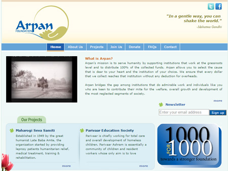 Arpan Foundation, CA, (USA)
