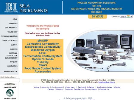 Bela Instruments, Mumbai, (India)