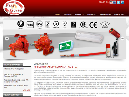 Fireguard Safety Equipment Co. Ltd., West Midlands, (UK)