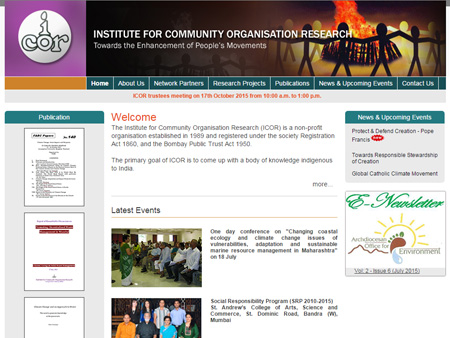 Institute for Community Organisation Research, Mumbai, (India)