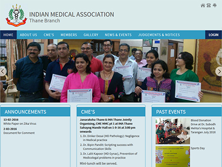 Indian Medical Association, Thane, (India)