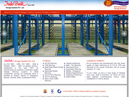 Indobuilt Storage Systems Pvt. Ltd., Mumbai, (India)