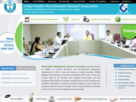 Indian Rubber Manufacturers Research Association, Thane, (India)