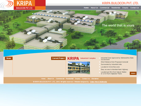 Kripa Buildcon, Thane, (India)