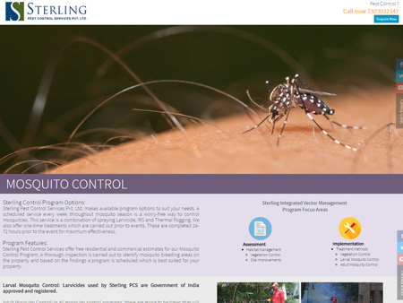 Sterling Pest Control Services Pvt. Ltd., Mumbai, (India) - Mosquito Control