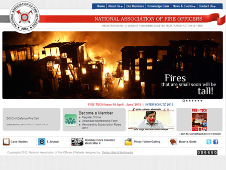 National Association of Fire Officers, Mumbai, (India)