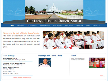 Our Lady of Health, Shirva, Karnatka, (India)
