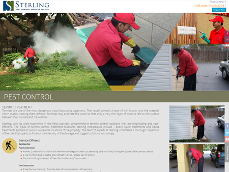 Sterling Pest Control Services Pvt. Ltd., Mumbai, (India) - Pest Control
