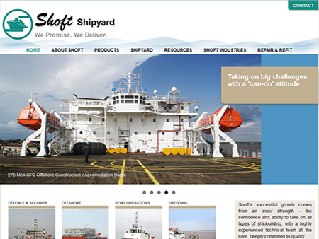 Shoft Shipyard Pvt. Ltd., Thane, (India)