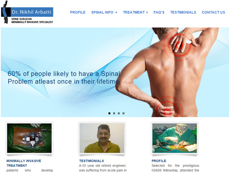 Dr. Nikhil Arbatti - Spine Surgeon, Mumbai, (India)