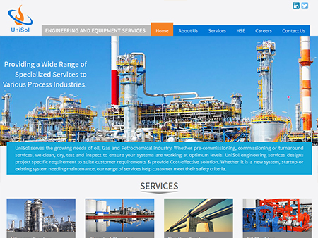 Unisol, Engineering and Equipment Services, Saudi Arabia, (UAE)